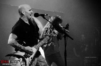 Anthrax y Testament en Chile