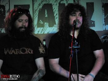 Presentación de Inmortal, el nuevo disco de Warcry