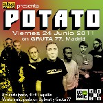 Potato en Madrid (Junio de 2011)