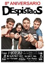 Despistaos + Luter + Los Gandules + El Chivi en Salamanca (Enero de 2011)
