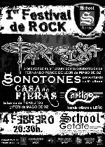 ParaElissa + Sonotones + Casa de Fieras + Castigo en Getafe (Febrero de 2011)