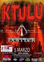 Ktulu + Doppler + Distance en Madrid (Marzo de 2011)