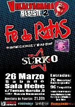 Fe de Ratas + Surko en Madrid (Marzo de 2011)
