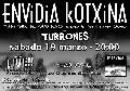Envidia Kotxina + Turrones en Madrid (Marzo de 2011)