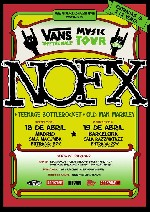 NOFX + Teenage Bottlerocket + Old Man Markley en Madrid (Abril de 2011)