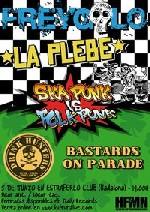 Freygolo + Bastards on Parade + La Plebe + Drink Hunters en Badalona (Junio de 2011)