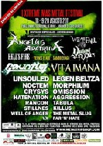 I Xtreme Mas Metal Festival: Gauntlet + Unsouled + Noctem + Crysys + Killem + Rancor + Stillnes + Well of Anger + VX