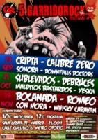 Sublevados + Debruces + Malditos Bastardos + Yeska en Madrid (Octubre de 2011)
