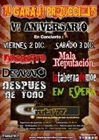 Mala Reputacion + La Taberna de Moe + En Espera en Madrid (Diciembre de 2011)
