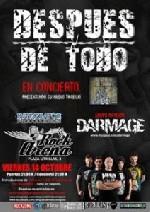 Despues de Todo + Darmage en Zaragoza (Octubre de 2011)