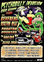 Reverend Horton Heat + Phantom Rockers + The Brains + The Silver Shine en Badalona (Diciembre de 2011)