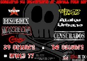 Censurados + Atake Urbano + Extracto de Lupulo en Madrid (Octubre de 2011)