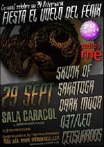 Saratoga + 037 Leo + Skunk DF + Dark Moor + Censurados en Madrid (Septiembre de 2011)