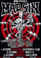 Mad Sin + Dusty Trip en Madrid (Octubre de 2011)