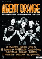 Agent Orange + The Government en Madrid (Noviembre de 2011)