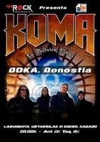 Koma en Donostia-San Sebastian (Enero de 2012)