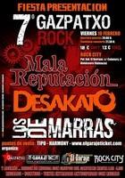 Los de Marras + Mala Reputacion + Desakato en Almàssera (Febrero de 2012)
