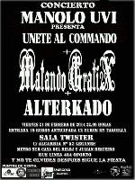 Matando Gratix + Manolo UVI + Alterkado en Leganes (Feb/2014)