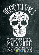 The Boo Devils en Madrid (Abril de 2014)