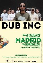 Dub Inc en Madrid (Feb/2014)