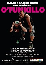 O'Funk'illo en Madrid (Abr/2014)