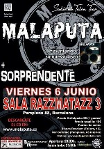 Malaputa + Sorprendente! en Barcelona (Jun/2014)