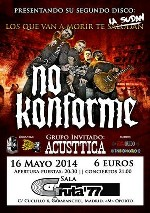 No Konforme + Acusttica en Madrid (May/2014)