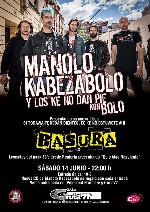 Manolo Kabezabolo + Basura en Madrid (Jun/2014)