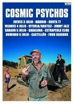 Cosmic Psychos + Los Chicos en Madrid (Jul/2014)