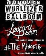 Leopard Skin + The Minority en Madrid (Jun/2014)