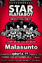 Star Mafia Boy + New Generation Superstars + Malasunto en Madrid (Sep/2014)