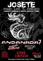 Andanada 7 + Frakctura The Exkafoides + Skeleton Army en Madrid (Agosto de 2014)