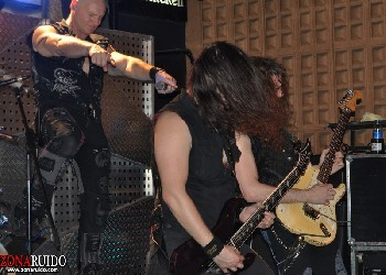 Primal Fear + Brainstorm + Palace en Madrid (Abril de 2012)