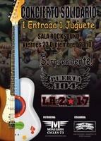 Sorprendente! + Puerta 104 + La 217 en Barcelona (Diciembre de 2011)