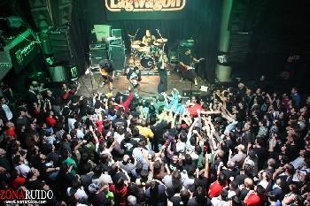 Lagwagon + Million Bucks + Bitter Mambo en Madrid (Abril de 2012)
