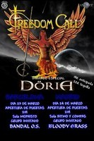 Freedom Call + Doria + Bloody Grass en Madrid (Marzo de 2012)