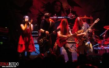 Kamelot + Xandria + Triosphere + Blackguard en Madrid (Noviembre de 2012)