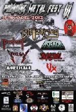 Pounding Metal Union Festival 2012: Blitzkrieg + Asgard + Steelgar + Agresiva + Mortician + VX + Portrait