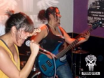 Perra Vieja + Yocasta en San Fernando de Henares (Marzo de 2012)