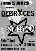 Surko + Debruces en Madrid (Abril de 2012)
