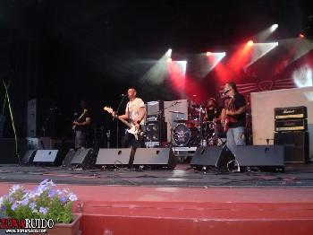 Los Suaves + Con Mora + Oker en Leganes (Julio de 2012)