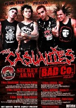 The Casualties + Bad Co. Project + Secret Army
