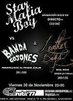 Star Mafia Boy + Banda Cojones + Leather Boys en Madrid (Noviembre de 2012)