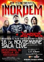 Inordem + Demonik en Madrid (Noviembre de 2012)