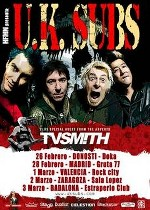 UK Subs + TV Smith en Madrid (Febrero de 2013)