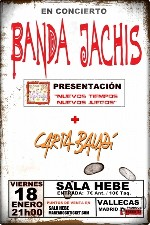 Banda Jachis + Carta Baladi en Madrid (Enero de 2013)