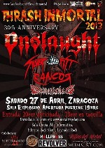 Onslaught + Silver Fist + Rancor + Demonished + Inordem
