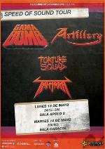 Gama Bomb + Artillery + Torture Squad + Tantara en Madrid (Mayo de 2013)