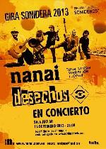 Desechos + Nanai en Madrid (Febrero de 2013)