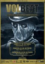 Volbeat + Iced Earth en Madrid (Octubre de 2013)